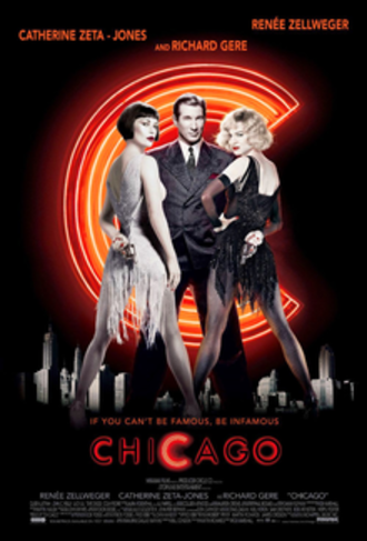 Chicago (2002 film) - Theatrical release poster