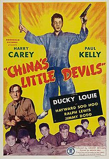 <i>Chinas Little Devils</i> 1945 war film directed by Monta Bell