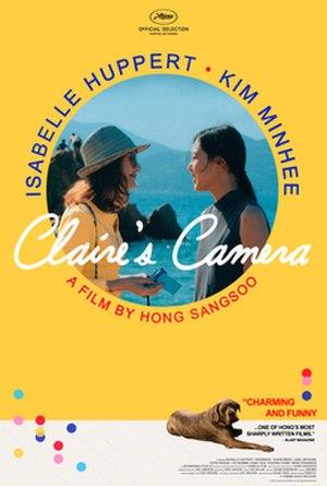 Claire's Camera - Film poster