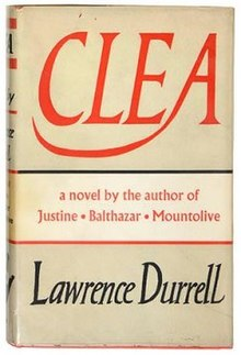 Clea (Lawrence Durrell novel - cover).jpg