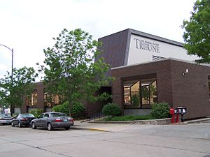 Columbia Daily Tribune - The Columbia Daily Tribune offices