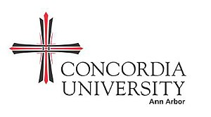 Concordia University Ann Arbor - Image: Concordia university logo