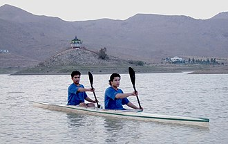 Mohammad Abubakar Durrani - Abubakar Durrani and Shoaib Khilji Pakistan National Junior Kayaking Champions