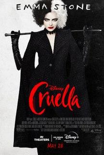 <i>Cruella</i> (film) 2021 film by Craig Gillespie
