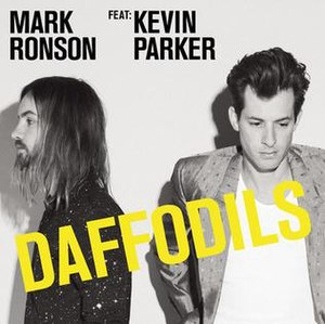 Daffodils (Mark Ronson song) - Image: Daffodils cover