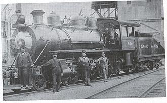 Desloge Consolidated Lead Company - Desloge locomotive