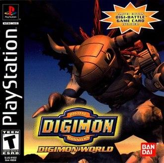Digimon World - North American boxart