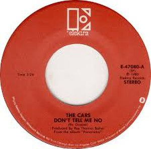 Don't Tell Me No - Image: Don't Tell Me No The Cars