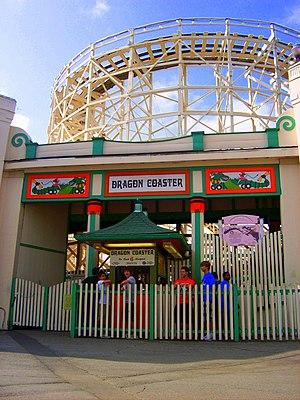 Dragon Coaster (Playland) - Image: Dragoncoasterplaylan d