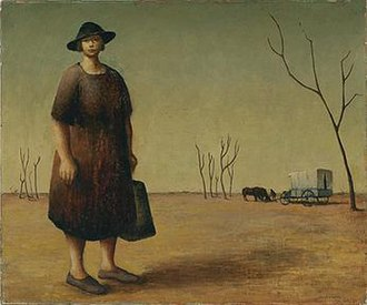 The Drover's Wife - Image: Drysdale The Drover's Wife 1945