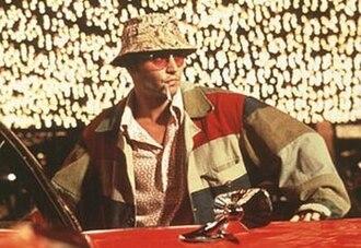 Raoul Duke - Johnny Depp portraying Raoul Duke in Fear and Loathing in Las Vegas