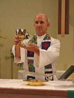 Divine Service (Lutheran) - Image: Elca eucharistic elevation