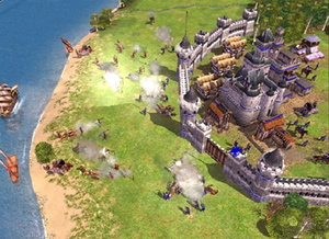 Empire Earth (series) - A screen shot from Empire Earth II