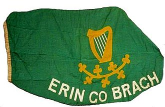Peter O'Connor (athlete) - The flag waved by Peter O'Connor at the 1906 Olympics