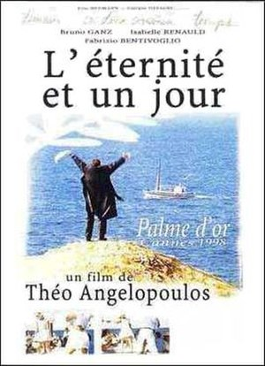 Eternity and a Day - french film poster