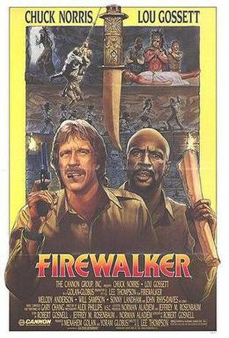 Firewalker (film) - Theatrical release poster