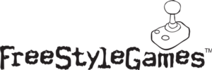 Ubisoft Leamington - Former FreeStyleGames logo, 2002–2017