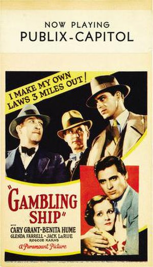 Gambling Ship - Movie poster