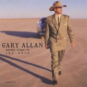 Smoke Rings in the Dark (song) - Image: Gary Allan Smoke Rings cd single