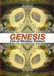 <i>Genesis Live at Wembley Stadium</i> 2003 video by Genesis