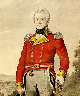 British Marines officer and Lieutenant-Governor of New South Wales (1764 - 1823)