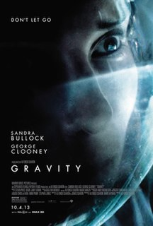 <i>Gravity</i> (2013 film) 2013 science fiction thriller film directed by Alfonso Cuarón