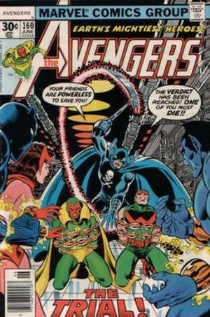Grim Reaper (comics) - The Grim Reaper vs the Avengers,  art by George Pérez