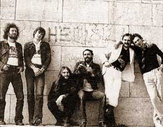 Opus (Yugoslav band) - The last Opus lineup, in 1979, from left to right: Zoran Dašić, Dragan Baletić, Vidoja Božinović, Miodrag Okrugić, Slobodan Orlić, Vladan Dokić