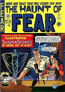 <i>The Haunt of Fear</i> American bi-monthly horror comic