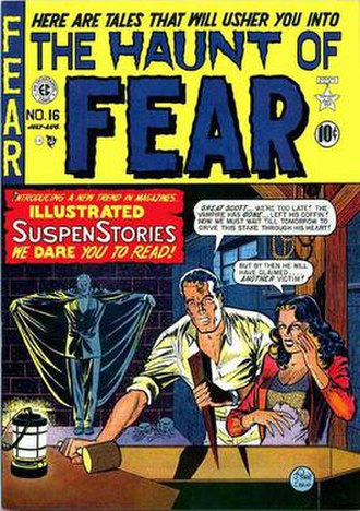 The Haunt of Fear - Image: Haunt of Fear EC