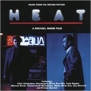 Heat (soundtrack) - Image: Heat (1995 movie soundtrack album cover art)