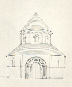 The Holy Sepulchre, Northampton - Holy Sepulchre, Cambridge (aisles removed)