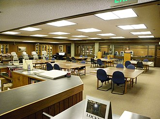 Archival research - The Hoover Institution Library and Archives Reading Room. A reading room is a space at an archive where users can consult materials under staff supervision.