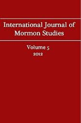 International Journal of Mormon Studies - Image: IJMS cover