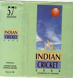 <i>Indian Cricket</i> (annual)