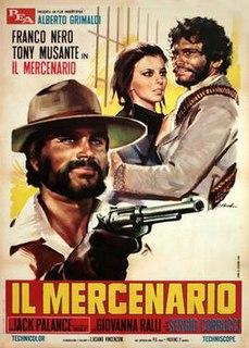 <i>The Mercenary</i> (film) 1968 film directed by Sergio Corbucci