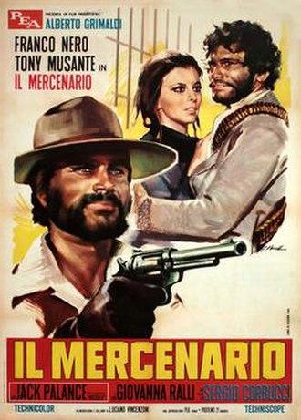 The Mercenary (film) - Image: Il mercenario italian movie poster md
