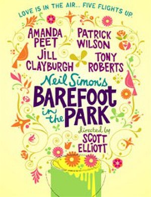 Barefoot in the Park - 2006 Revival Poster