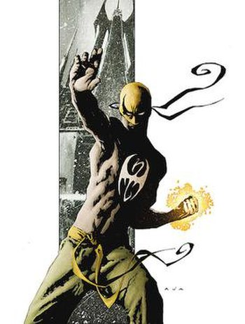 Immortal Iron Fist #1. Art by David Aja.