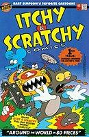 Щекотка и Царапка / Itchy & Scratchy - Комиксы.