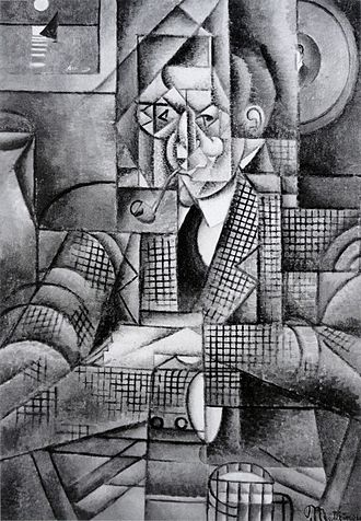 Le Fumeur - Image: Jean Metzinger, 1911 12, Man with a Pipe (Portrait of an American Smoker), oil on canvas, 92.7 x 65.4 cm (36.5 x 25.75 in), Lawrence University, Appleton, Wisconsin