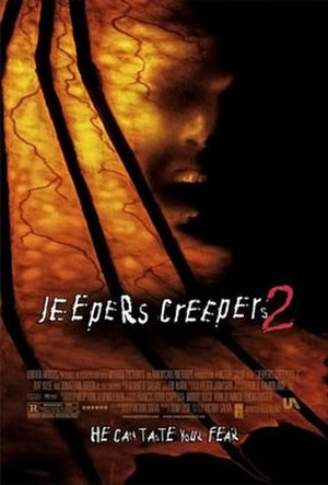 Jeepers Creepers 2 - Theatrical release poster