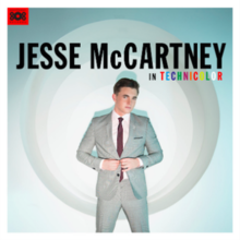 Jesse McCartney's 4th album, In Technicolor, album cover.png