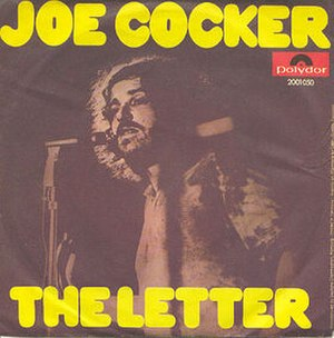 The Letter (The Box Tops song) - Image: Joecockerletter 45