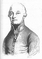 Johann Hiller commanded the Austrian left wing.