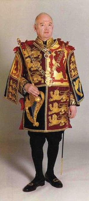 John Brooke-Little - John Brooke-Little, Norroy and Ulster King of Arms.