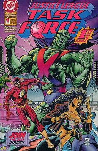 Justice League Task Force (comics) - Image: Justice League Task Force.1a