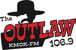 KMOK - Image: KMOK The Outlaw 106.9 logo