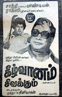 <i>Keezh Vaanam Sivakkum</i> 1981 Indian film