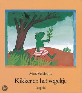 <i>Frog and the Birdsong</i> book by Max Velthuijs